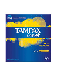 Need results, choose Tampax Compak Regular Tampons. Fast Delivery in the UK for FREE. Amazing NEW bargains every day. Be quick, Shop Now.