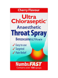 For quick results, try Ultra Chloraseptic Cherry Anaesthetic Throat Spray. Fast Delivery in the UK for FREE. OFFERS each and every day. Hurry, Buy Now.