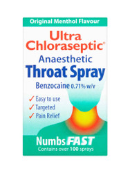 Discover Ultra Chloraseptic Menthol Anaesthetic Throat Spray. Delivered fast and FREE in the UK. Amazing OFFERS every day. Be quick, Shop Now.