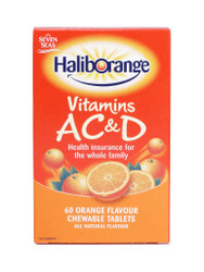 For guaranteed results, try HalibOrange® Vitamins AC & D - 60 Orange Chewable Tablets. FREE, fast UK delivery. Amazing NEW offers, every day. Act quickly, Buy Now.
