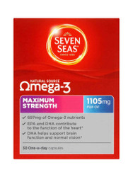 For quick results, try Seven Seas Maximum Strength Omega 3 Capsules. Delivered fast in the UK for FREE. New exclusive OFFERS each and every day. Act quickly, Shop Now.
