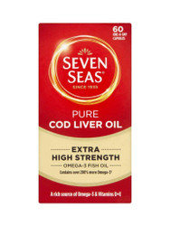 Discover Seven Seas Pure Cod Liver Oil Extra High Strength Capsules. FREE Delivery in the UK. You can't go wrong, with great daily OFFERS. Act quickly, Buy Now.