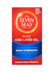 For great results, try Seven Seas Pure Cod Liver Oil High Strength Capsules. Delivered for FREE in the UK. Giving you best value, all the time. Don't miss out, Shop Now.