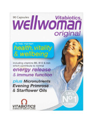 Get great results, with Well Woman Vitamins Original by Vitabiotics Capsules. Fast UK Delivery for FREE. You can't go wrong, with great daily OFFERS. Don't miss out, Shop Now.