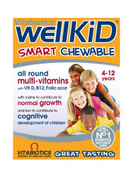 For quick results, try WellKid Smart Chewable Multivitamins by Vitabiotics. Delivered FREE in the UK. OFFERS each and every day. Don't miss out, Shop Now.