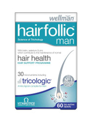 For great results, try WellMan Hairfolic Tablets for Hair Loss by Vitabiotics. Delivered fast in the UK for FREE. Amazing OFFERS every day. Act quickly, Buy Now.