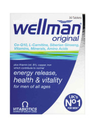 For great results, try WellMan Original by Vitabiotics Tablets. Fast UK Delivery for FREE. Why not benefit from our daily NEW offers? Be quick, Shop Now.