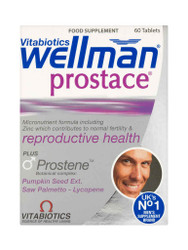 Discover WellMan Prostate by Vitabiotics Tablets. Delivered fast in the UK for FREE. Why not benefit from our daily NEW offers? Hurry, Buy Now.