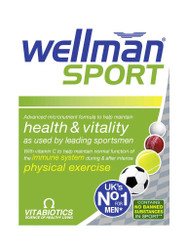 Need reliable results, try WellMan Sport by Vitabiotics Tablets. Fast, FREE UK Delivery. Why not benefit from our daily NEW offers? Act quickly, Buy Now.