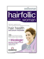 For quick results, try WellWoman Hairfolic Hair Growth Tablets by Vitabiotics. Delivered for FREE in the UK. You can't go wrong, with great daily OFFERS. Hurry, Buy Now.