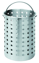 Perforated 120-Quart Stockpot Baskets