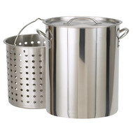 Bayou Classic Stainless 82-Quart Stockpot