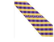 LSU WP Checkered Tie