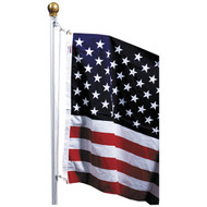U.S. Flag 18' Pole Kit