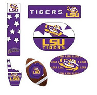 LSU 6pk Magnet Set
