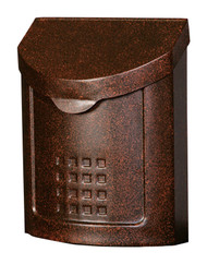 Gibraltar Locking Mailbox Wall Mount Style Lockhart Copper