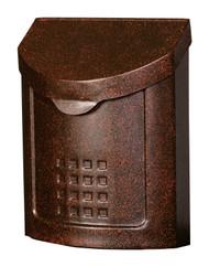 Gibraltar Locking Mailbox Wall Mount Style Lockhart Copper