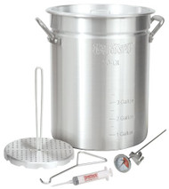Bayou Classic 30-Quart Aluminum Turkey Fryer w/ Accessories