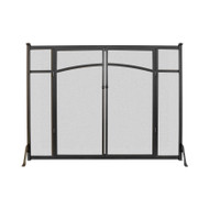 Fireplace Screen Flat With Doors
