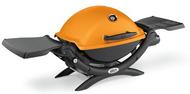Weber Q1200 Orange Grill