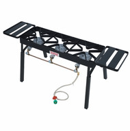 Bayou Classic Triple Burner Patio Stove With Extension Legs