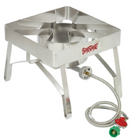 Bayou Classic SS84 Stainless Steel Burner Stove Cooker
