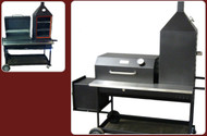 PM 75 With Upright Smoker & Adjustable Charcoal Rack