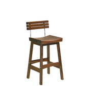 Jensen Leisure Sunset Bar Stool With Back