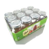 Ball Regular Mouth Pint Jars Set of 12