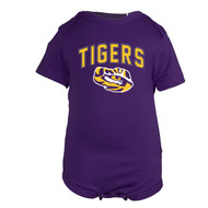 LSU Infant Tommy One Piece Purple