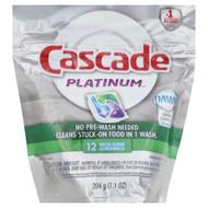 Cascade Platinum 11 pk Fresh Scent Dishwasher Detergent