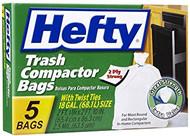Hefty 18 gal. Compactor Bags Twist Tie 5 pk