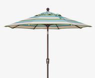 7.5' Push Tilt Custom Octagon Umbrella