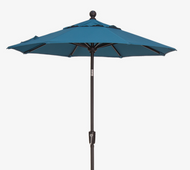 6' Push Tilt Custom Octagon Umbrella