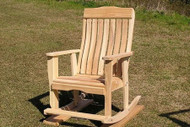 Cypress Low Back Rocker