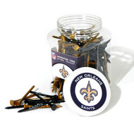 Saints Golf Tee Jar