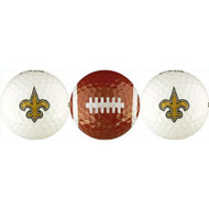 Saints Golf Balls - 3 Pack