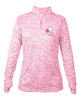 Ladies Light Weight Performance Quarter Zip with thumb holes