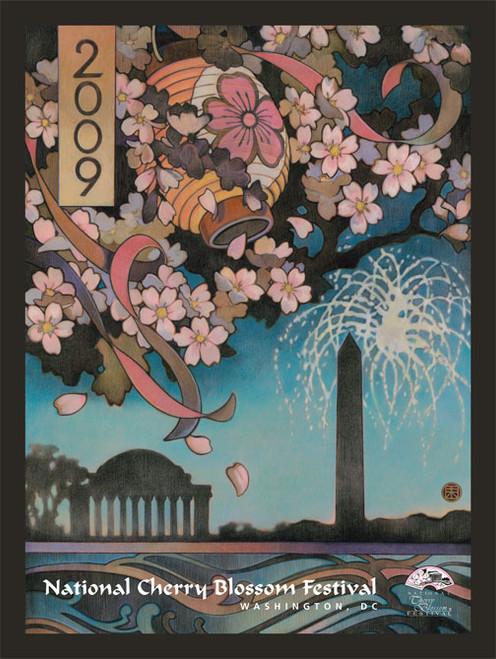 2009 National Cherry Blossom Festival Poster