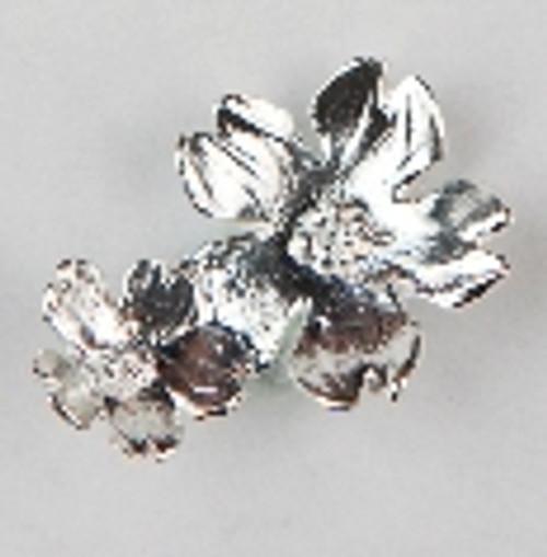 Sterling Blossom Lapel Pin