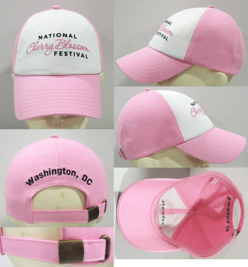 Cherry Blossom White/Pink Hat