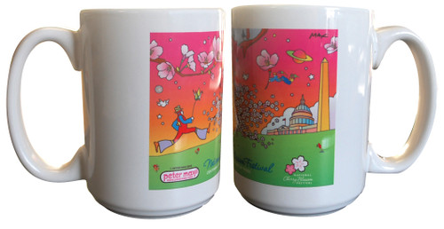 Peter Max Coffee Mug
