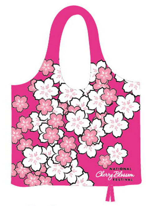Cherry Blossom Foldable/Waterpoof Bag