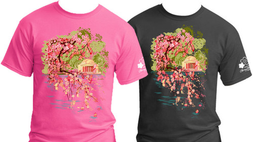 2014 National Cherry Blossom Official T-Shirt