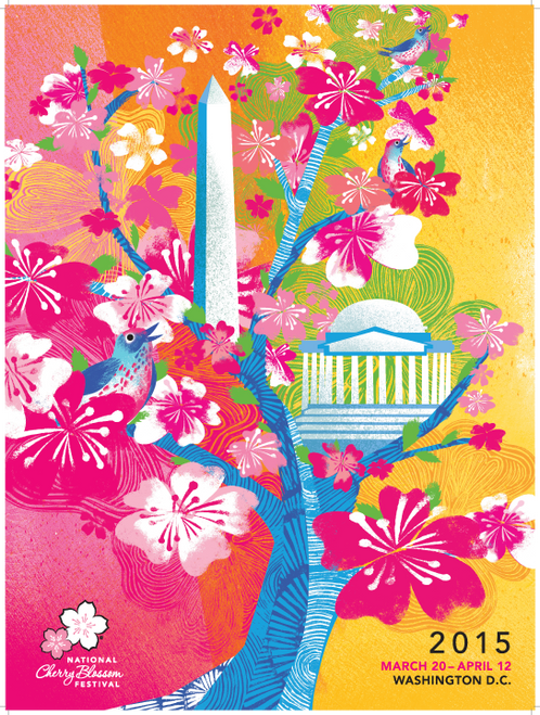 2015 National Cherry Blossom Official Poster