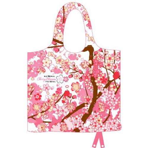 Cherry Blossom Foldable (Waterproof) Bag