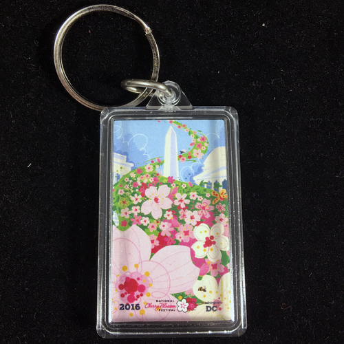 Official 2016 National Cherry Blossom Festival Keychain