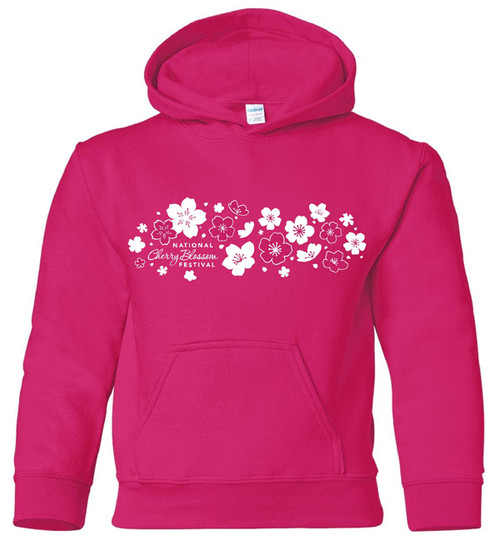 New Cherry Blossom Hooded Sweatshirt