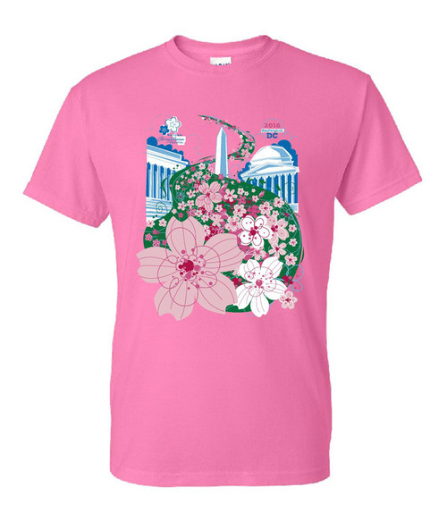 2016 National Cherry Blossom Festival Official T-Shirt