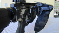 allows the reciprocating charging handle to move freely.